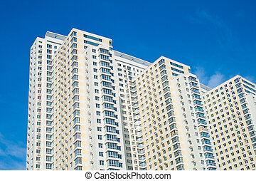 Condominium in urban area