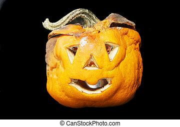 Decaying Halloween lantern