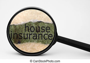 Search for house insurance