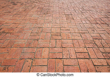 close - up street floor tiles as background.