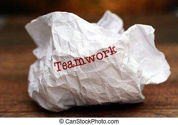 Broken teamwork