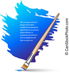 Paint brush background - Paint brushes color frame artistic...