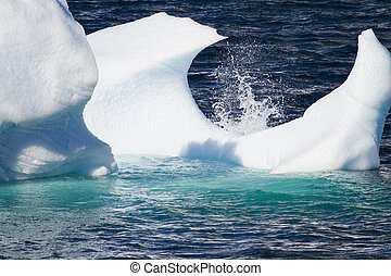 Antarctica - Floating Ice - Antarctica - Antarctic Peninsula...