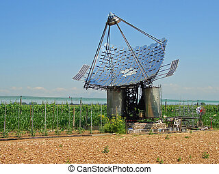 Solar panels - Water heating mirror solar panels and...