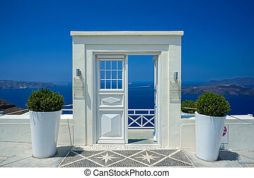 Door in Santorini