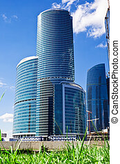 Moder skyscrapers - New skyscrapers business center in...