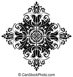 Orient Pattern. Abstract Background - Oriental pattern with...