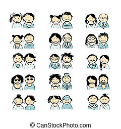 Couples sketch for your design
