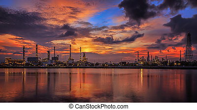 oil refinery industry plant