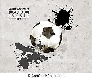 Creative Soccer Vector Design - Creative Soccer Football...