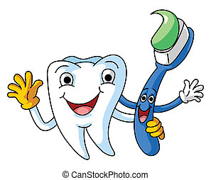 Tooth and Brush healthy