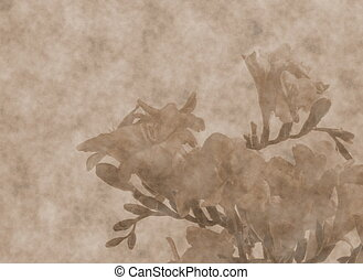 freesias  scrapbooking  background