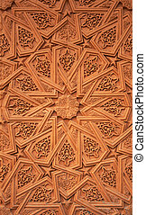 Wall ornamentation - Islamic Moorish style Detail of wall...