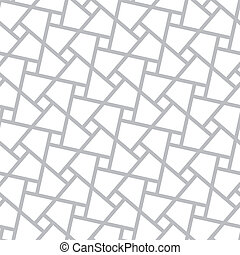 Vector seamless pattern - poligonal geometric modern simple...