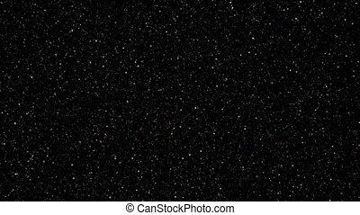 Flying through a starfield