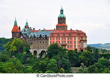 Ksiaz, slott, Walbrzych, Polen