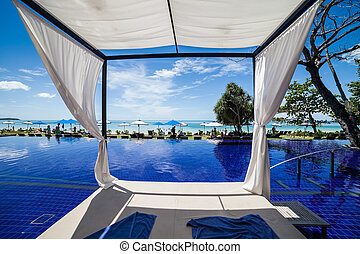 infinity pool in thailand - thailand beautiful infinity pool...