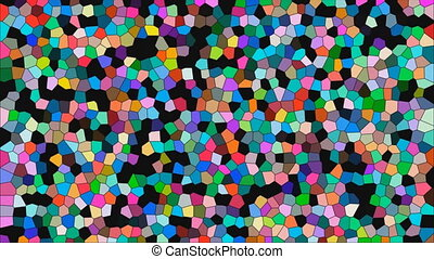 Stained glass colorful background
