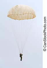 parachute - Parasailer Against Sky