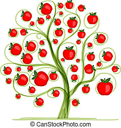 Apple tree for your design