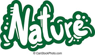 Nature emblem