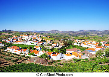 Village in  douro valley, Portugal