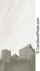 Old castle - Creative design of old castle
