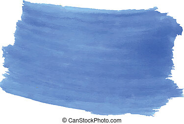 Sky blue watercolor background. Editable design made in a...