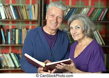 Cheerful retired couple in love - Portrait of cheerful...