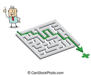 Joe and the maze