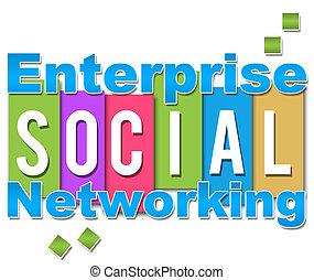 Enterprise Social Networking Colour