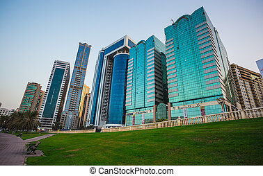 Sharjah - third largest and most populous city in UAE -...