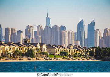 Dubai Marina. UAE - DUBAI, UAE - NOVEMBER 7: Dubai Marina....
