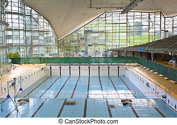 Empty Indoor Pool as Renewal Project for Exercise and...