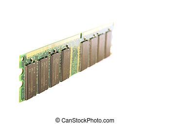 Memory module, standing - Personal computer RAM memory...