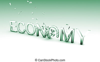 Economic Crisis in Green with Exploding Economy