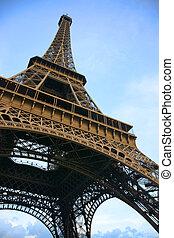 Eiffel tower from below - Eiffel tower seen from below...