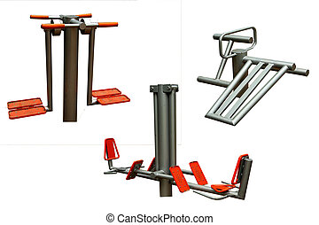 Outdoor fitnes equipment