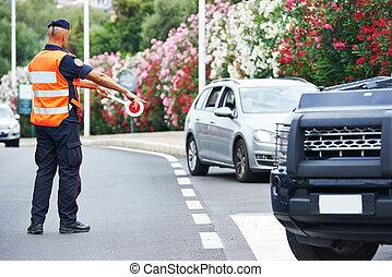 Italian policeman carabinier - Italian special military...