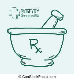 medicine design over white background vectro illustration