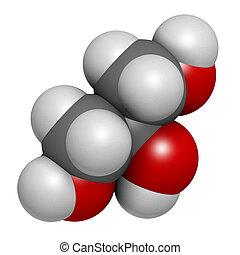 (glycerin), óleo, triglyce, gorda, produzido, molécula,...