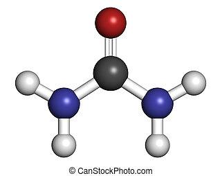urea, (carbamide), molécula, utilizado,...