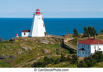 Swallowtail Lighthouse on Grand Manan