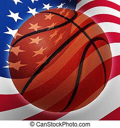 美國人, 籃球