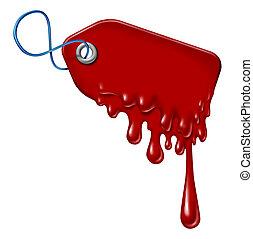 sangramento, dívida