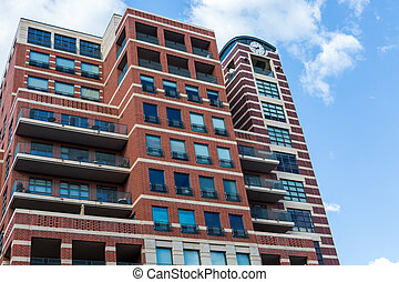 Condominiums - Contemporary condominiums at Riverfront...