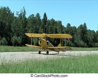 Tiger Moth, 1938,  Airplane