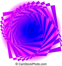 Abstract colorful swirl image.