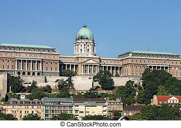 Royal castle Budapest landmark Hungary