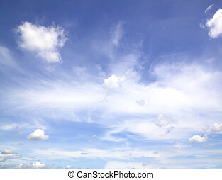 Sky Blue - Sky blue natural abstract pattern background...
